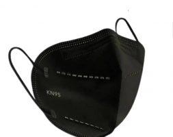 KN95 Mascarilla Negro sin filtro