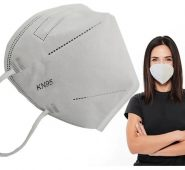 KN95 Mascarilla Blanco sin filtro soporte nasal interno